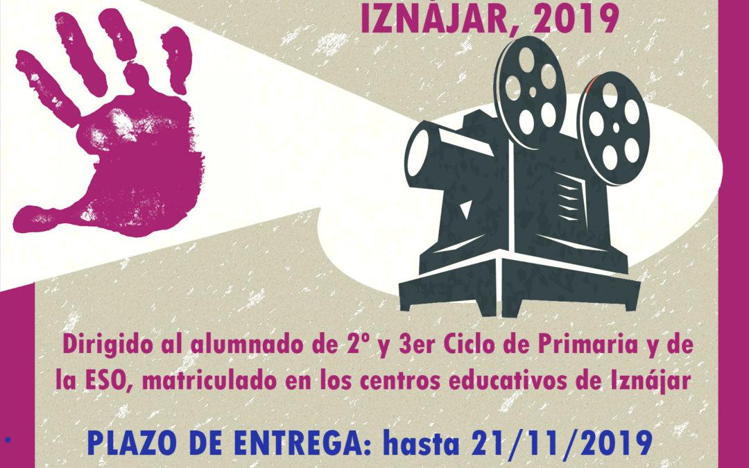 """l Ayuntamiento de Iznájar convoca la segunda edición del cortometrajes """"La Inteligencia crea, la violencia destruye"""" 1"""