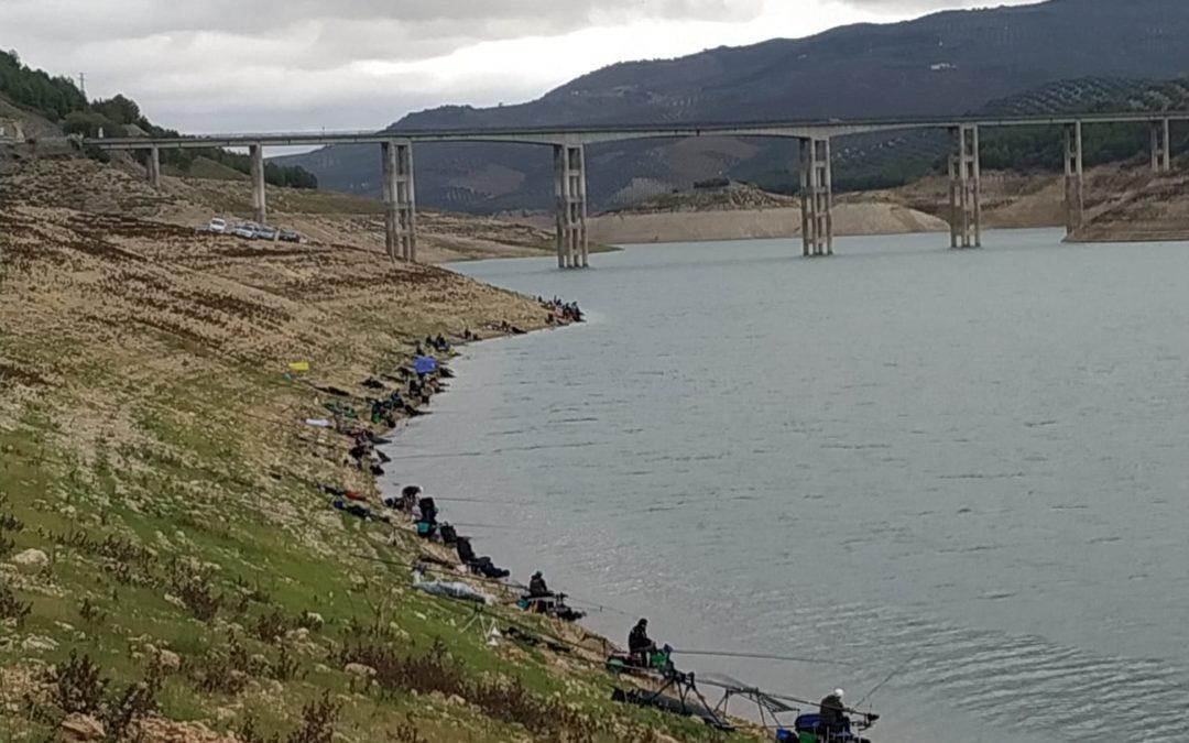 Concurso de pesca celebrado el pasado domingo en Iznájar 1