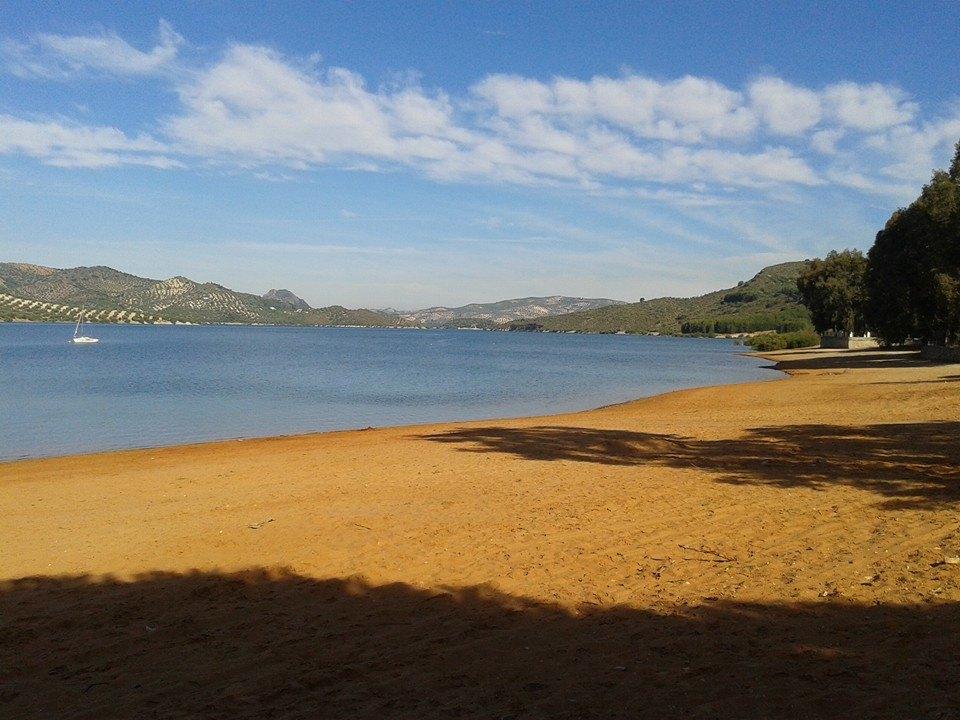 Panorámica del lago de Iznájar