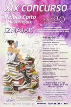 cartel del XIX concurso de relato corto y microrrelato