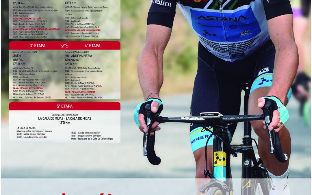 Bando informativo Vuelta Ciclista a Andalucía