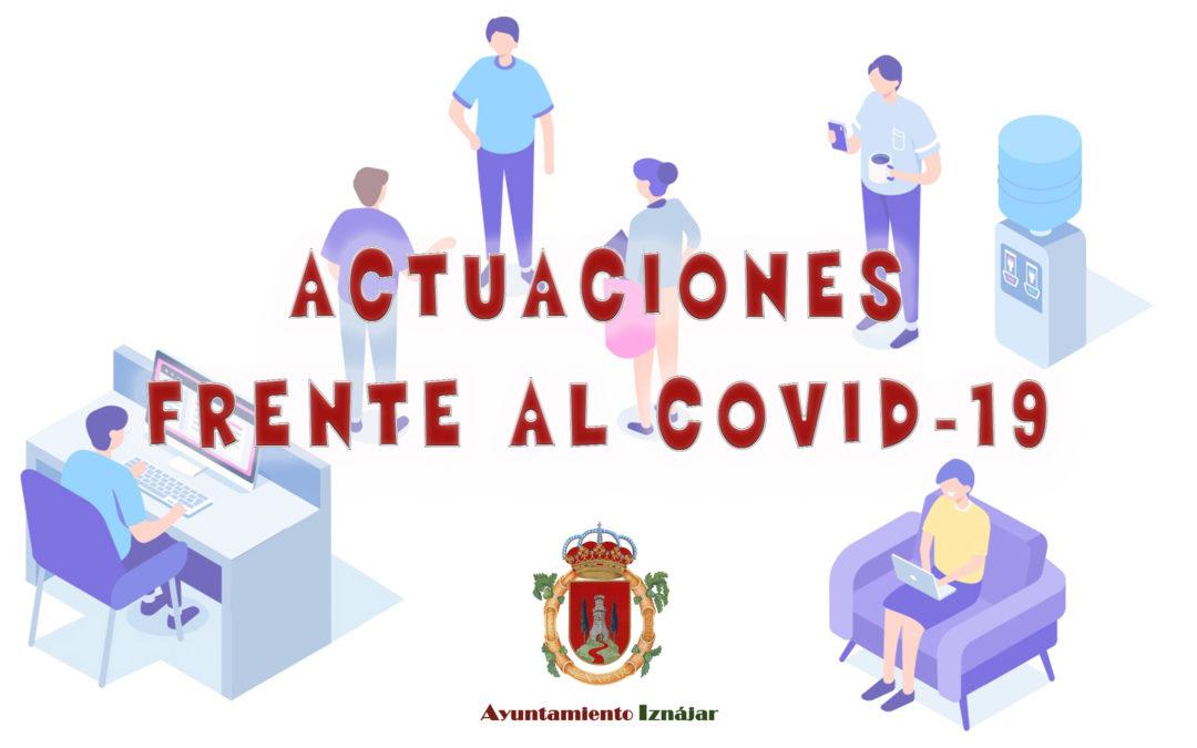 El Ayuntamiento de Iznájar reanuda la atención presencial