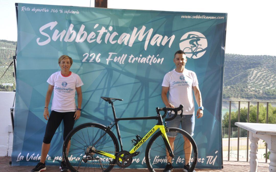 El prieguense Jorge Moreno realizará un ironman solidario de 226 kilómetros por la Subbética