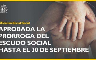 Aprobada la Prórroga del Escudo Social Hasta el 30 de Septiembre