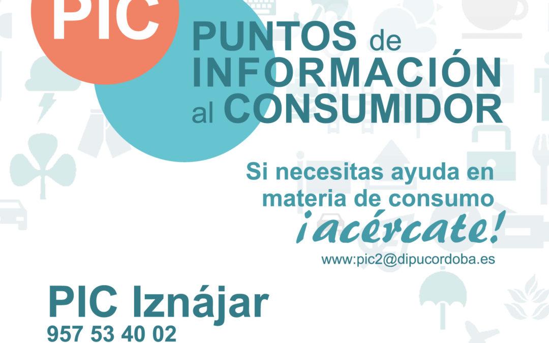 El Punto de Información al Consumidor de Iznájar da a conocer el calendario 2020-2021