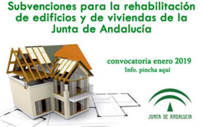 Ayudas a la rehabilitación de viviendas RhV 2019