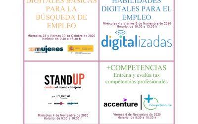 Formación online para mujeres en situación de búsqueda de empleo