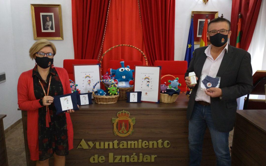 El Ayuntamiento de Iznájar dota a los centros escolares del municipio de 600 kit de prevención ante la Covid-19
