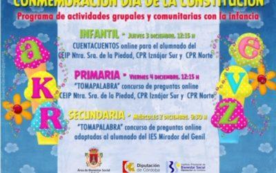 El Ayuntamiento de Iznájar presenta una serie de actividades con motivo del Día de la Infancia