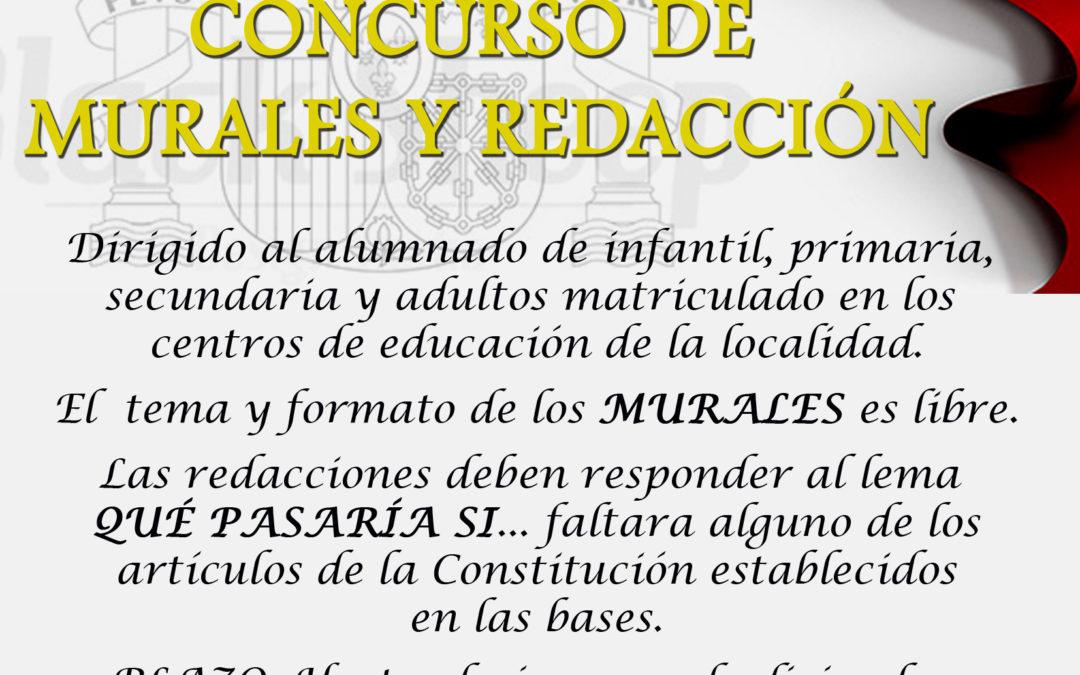 El Ayuntamiento de Iznájar convoca unos concursos para promover entre el alumnado la importancia de nuestra Constitución