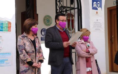 Paro y lectura del manifiesto contra la violencia de género 2020