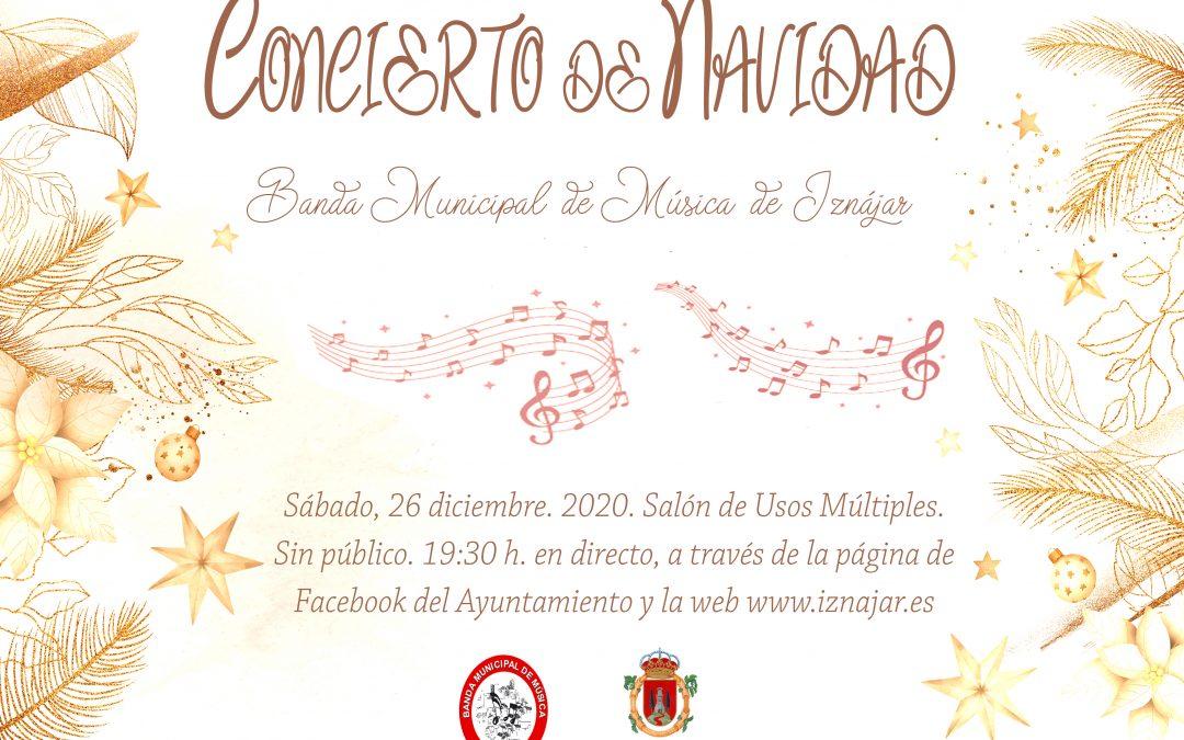 DIRECTO Concierto de Navidad de la Banda Municipal de Música
