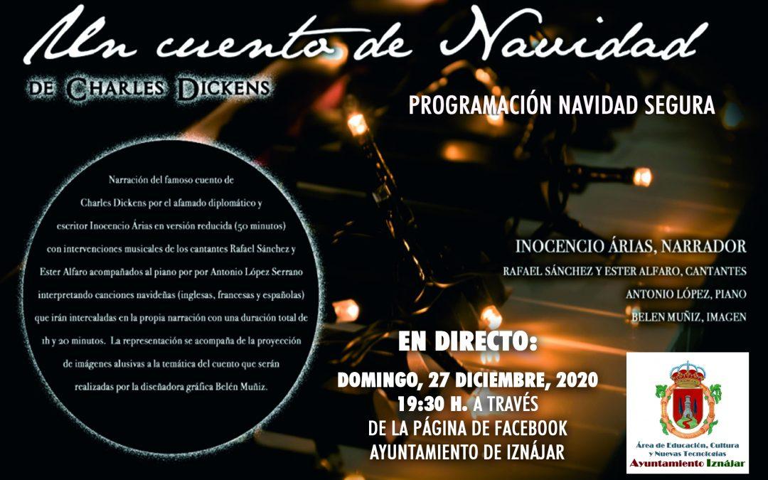 """Recital """"Un cuento de Navidad"""" de Charles Dickens"""