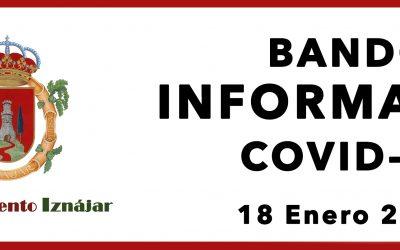 Bando Informativo COVID-19 18 Enero 2021