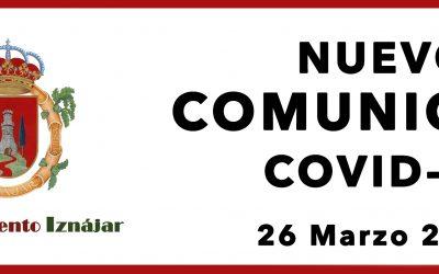 Comunicado Covid 26-03-2021
