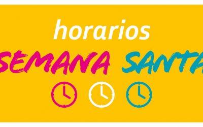 Horarios de Semana Santa en dependencias municipales