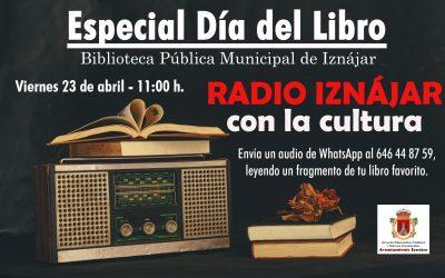 Radio Iznájar y la Biblioteca Pública Municipal de Iznájar celebran el Día Internacional del Libro