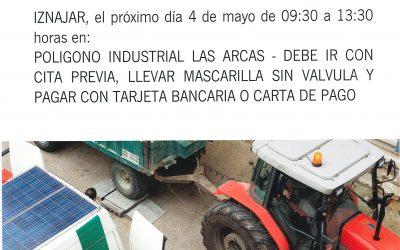 ITV agrícola en Iznájar