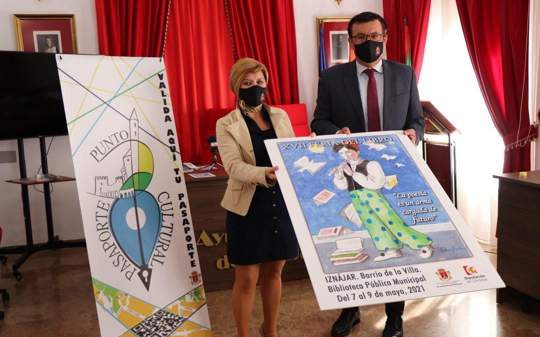 Hoy da comienzo la XVII Feria del Libro de Iznájar, y recuerda que ya puedes estrenar tu Pasaporte Cultural.