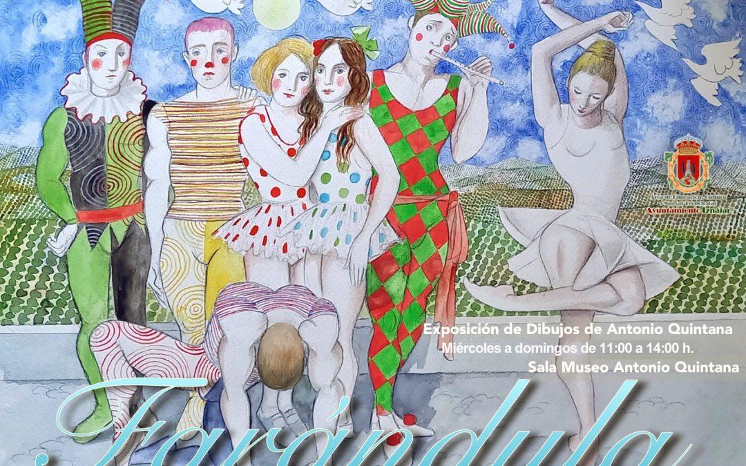 """Exposición de dibujos """"Farándula"""" de Antonio Quintana"""
