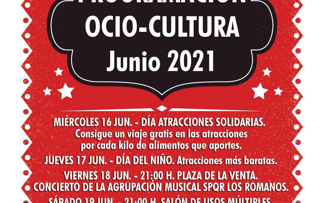 Programación Ocio – Cultura Junio 2021