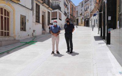 Restablecimiento del tráfico en calle Puerta de la Muela de Iznájar