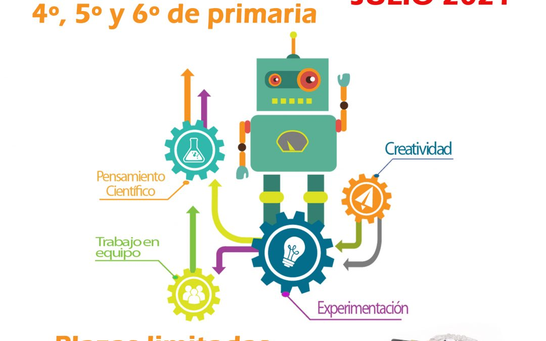 Taller de robótica para niños de Iznájar