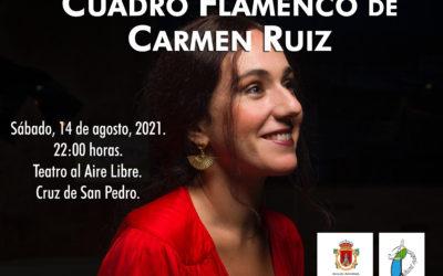 Actuación cuadro flamenco Carmen Ruiz