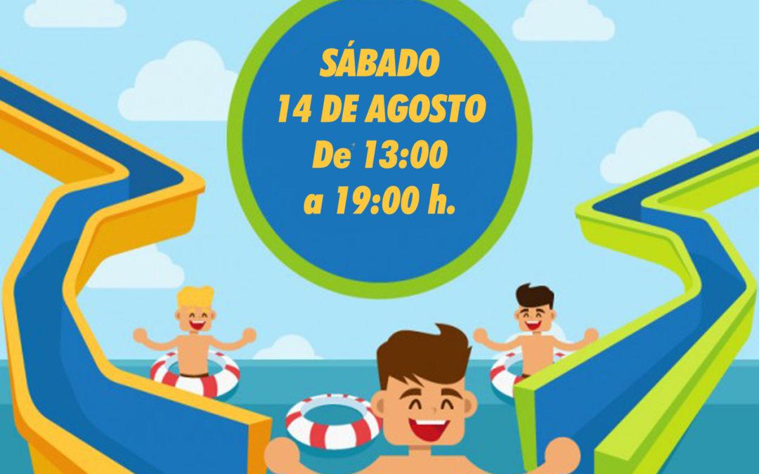 Fiesta de Toboganes acuáticos, Talleres y Aquazumba