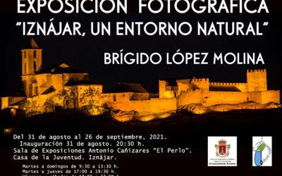 """Exposición """"Iznájar, un entorno natural"""" de Brígido López Molina"""