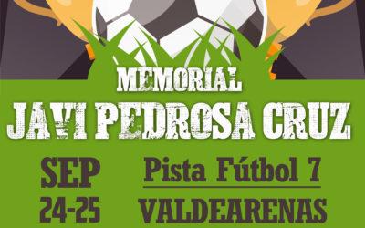 "Torneo de Fútbol 7 ""Memorial Javi Pedrosa Cruz"""