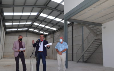 Iznájar cuenta con una nueva nave a disposición de emprendedores construida por el Ayuntamiento de Iznájar con el apoyo del GDR Subbética