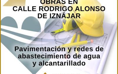 Bando Obras Calle Rodrigo Alonso de Iznájar