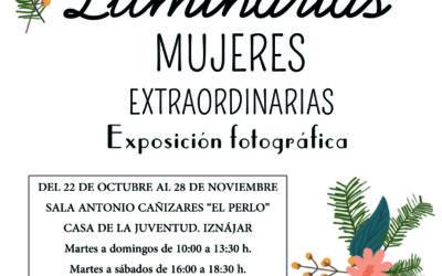 La Sala Antonio Cañizares «El Perlo» acoge la exposición «Luminarias. Mujeres extraordinarias»